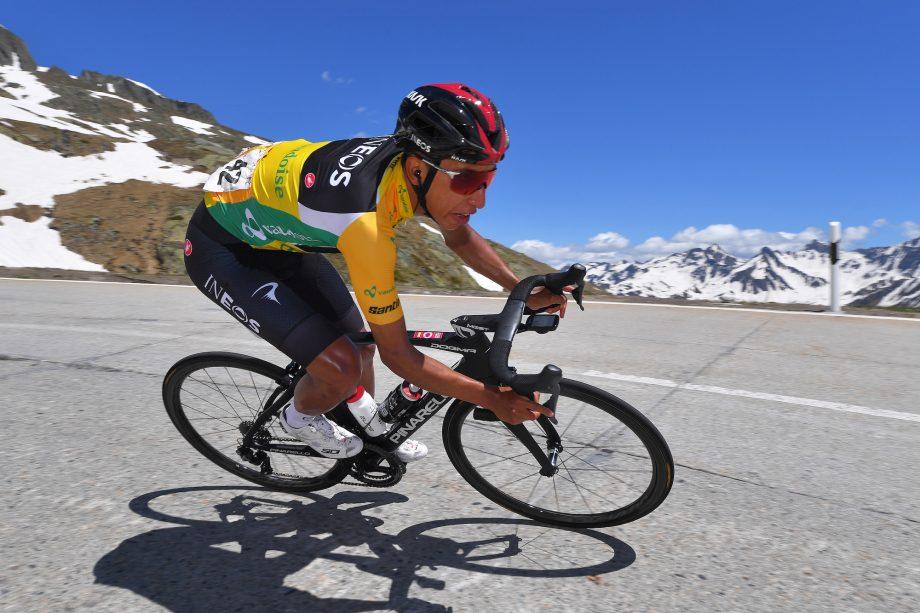 3f25a906fbbda Egan Bernal při sjezdu na Tour de Suisse (www.cyclingweekly.com)